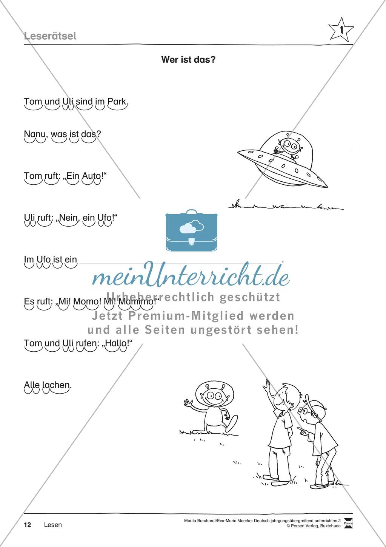 """JÜL - Drei Differenzierungsstufen: """"Auf zu den Sternen"""" - Einführung + Arbeitsblätter + Aufgaben + Lernkontrolle Preview 8"""