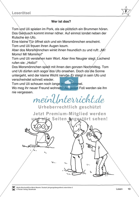 """JÜL - Drei Differenzierungsstufen: """"Auf zu den Sternen"""" - Einführung + Arbeitsblätter + Aufgaben + Lernkontrolle Preview 9"""