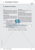 Bewegung im Wasser - Tauchen, Schwimmen, Fluten: didaktische Konzeption, Lehrerübersicht, Schülermaterial, Test Preview 11