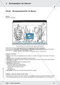 Bewegung im Wasser - Tauchen, Schwimmen, Fluten: didaktische Konzeption, Lehrerübersicht, Schülermaterial, Test Preview 5