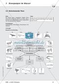 Bewegung im Wasser - Tauchen, Schwimmen, Fluten: didaktische Konzeption, Lehrerübersicht, Schülermaterial, Test Preview 6