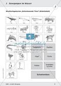 Bewegung im Wasser - Tauchen, Schwimmen, Fluten: didaktische Konzeption, Lehrerübersicht, Schülermaterial, Test Preview 8