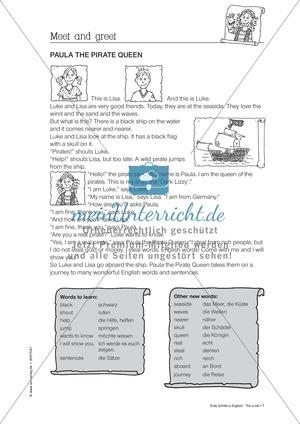 Englisch Klasse 4: Arbeitsblätter und Übungen | meinUnterricht.de