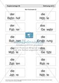 Dehnung mit h: Kartenspiel und Anleitung Preview 4