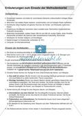Texten Informationen entnehmen: Methoden-Karteikarten Preview 1