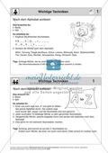 Texten Informationen entnehmen: Methoden-Karteikarten Preview 2