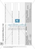 Lese- und Schreibförderung: Texte, Aufgabenblätter und Lösungen Preview 2