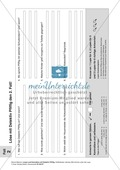 Lese- und Schreibförderung: Texte, Aufgabenblätter und Lösungen Preview 4