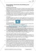 Textarbeit Eheschließung und Liebe: Karikatur, Text, Arbeitsblätter und Lösungen Preview 2