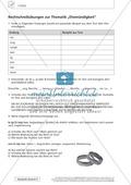 Textarbeit Eheschließung und Liebe: Karikatur, Text, Arbeitsblätter und Lösungen Preview 5