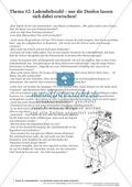 Textverständnis Training: Text, Arbeitsblätter und Lösungsblatt Thumbnail 0