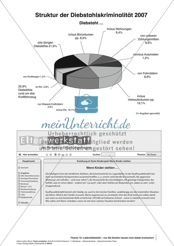 Textverständnis Training: Text, Arbeitsblätter und Lösungsblatt Preview 1