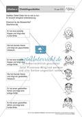 Stationentraining Adjektive: Arbeitsblätter und Lösungen Preview 6
