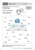 Stationentraining Adjektive: Arbeitsblätter Thumbnail 1