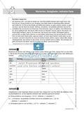 Basics Grammatik: Wortarten - Satzglieder - indirekte Rede,  Aufgaben + Lösungen Preview 1
