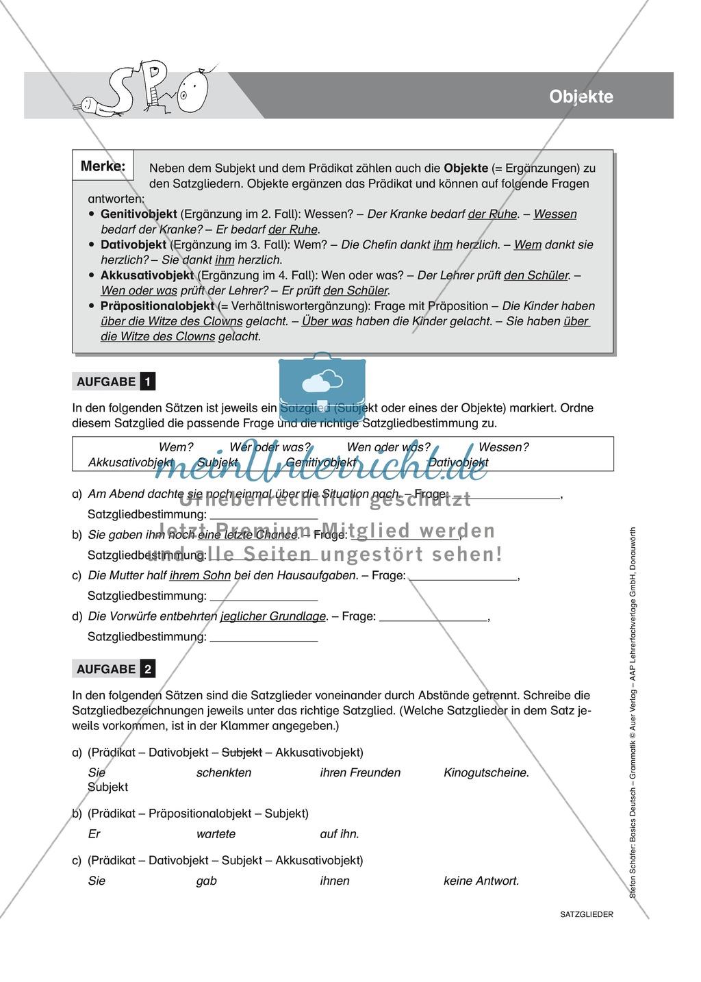 Nett Objekt Arbeitsblatt Ideen - Mathe Arbeitsblatt - urederra.info