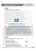 Basics Deutsch Grammatik Wortarten Verben: Arbeitsblätter und Lösungen Preview 10