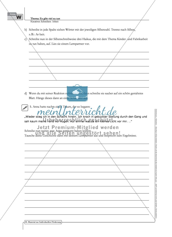 Kreatives Schreiben: Material zur individuellen Förderung: Aufgaben und Lösungsvorschläge Preview 11