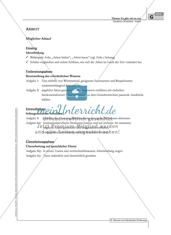 Kreatives Schreiben: Material zur individuellen Förderung: Aufgaben und Lösungsvorschläge Preview 0
