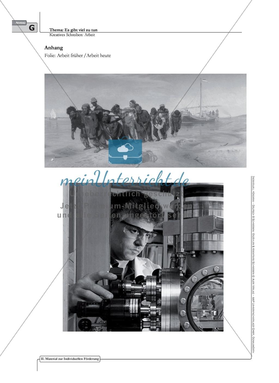 Kreatives Schreiben: Material zur individuellen Förderung: Aufgaben und Lösungsvorschläge Preview 1