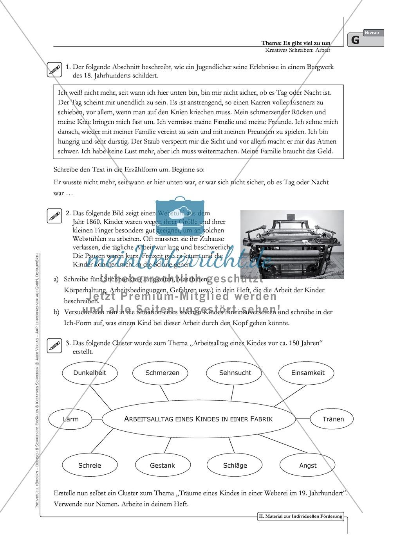 Kreatives Schreiben: Material zur individuellen Förderung: Aufgaben und Lösungsvorschläge Preview 2