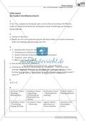 Sachtexte: Aufgaben des Sozialstaats: Unterrichtsvorschlag3, Text, Arbeitsblätter und Lösungen Preview 7