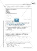 Einen Brief schreiben: Material zur individuellen Förderung mit Übungen und Lösungen Preview 11
