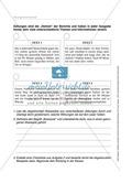 Berichte schreiben, Themen Einbruch und Fußball, Klasse 7/8: Übungen und Lösung Preview 4