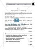 Wortarten - Diktat mit Aufgaben: Klassenarbeit und Lösung Preview 1