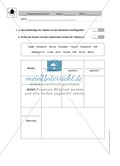 Wortarten bestimmen, Fachbegriffe kennen: Klassenarbeit und Lösung Preview 1