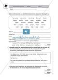 Wortkunde, Ausdruck: Klassenarbeit und Lösung Preview 1