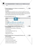 Zeitformen: Klassenarbeit und Lösung Preview 1