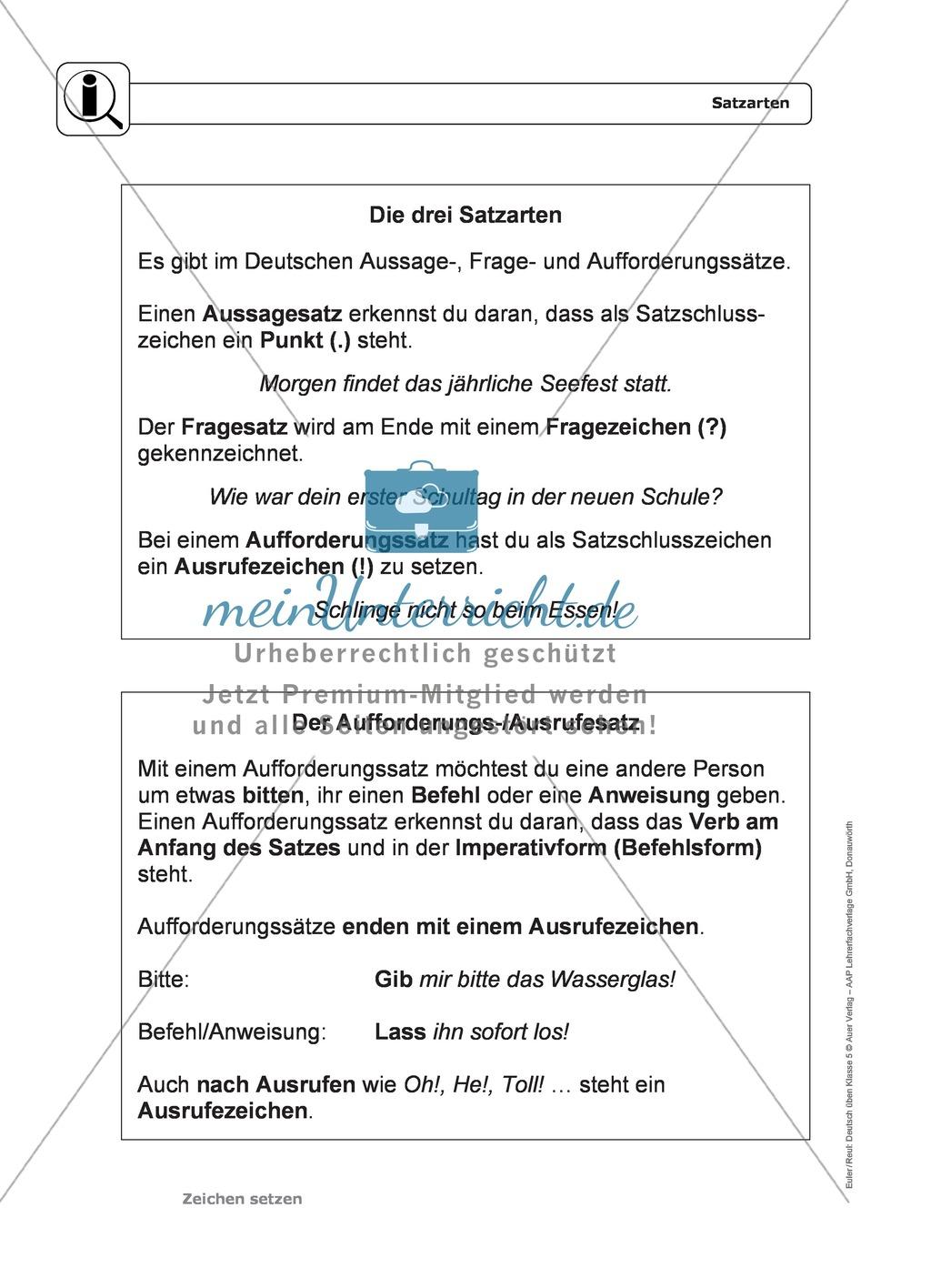 Zeichensetzung: Kommasetzung: Grundregeln, Arbeitsblätter und Lösungen Preview 0