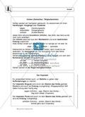 Wortarten: Verben: Regeln,  Arbeitsblätter und Lösungen Preview 1