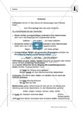 Wortarten: Verben: Regeln,  Arbeitsblätter und Lösungen Preview 2