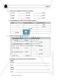 Wortarten: Verben: Regeln,  Arbeitsblätter und Lösungen Preview 5