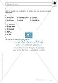 Wortarten: Pronomen: Regeln, Arbeitsblätter und Lösungen Preview 6