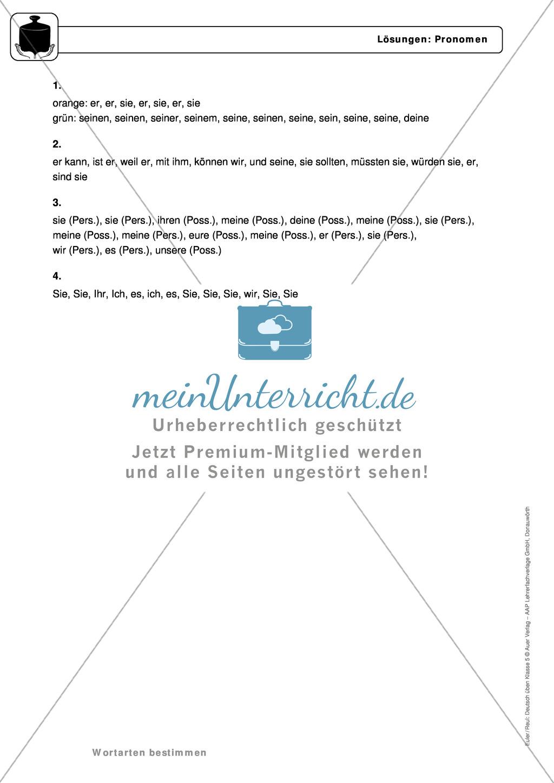 Groß Esl Thema Pronomen Arbeitsblatt Galerie - Super Lehrer ...