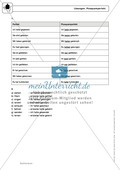 Zeitformen: Präsens: Regeln, Arbeitsblätter und Lösungen Preview 4