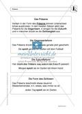 Zeitformen: Präsens: Regeln, Arbeitsblätter und Lösungen Preview 1