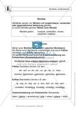 Wortkunde: Wortfelder und Wortfamilien: Regeln, Arbeitsblätter und Lösungen Preview 1