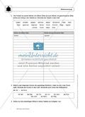 Rechtschreibung: Silbentrennung: Regeln, Arbeitsblätter und Lösungen Preview 3