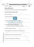 Lesekompetenz testen: Gebrauchstexte: Hinweise für die Lehrer, Übungen und Lösungen Preview 13