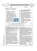 Lesekompetenz testen: Gebrauchstexte: Hinweise für die Lehrer, Übungen und Lösungen Preview 3