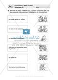 Lesekompetenz - Wörter und Sätze: Vorwort, Führerschein, Übungen und Tests Preview 16