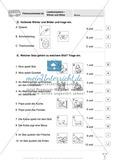 Lesekompetenz - Wörter und Sätze: Vorwort, Führerschein, Übungen und Tests Preview 21