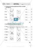 Lesekompetenz - Wörter und Sätze: Vorwort, Führerschein, Übungen und Tests Preview 5