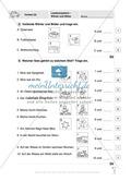 Lesekompetenz - Wörter und Sätze: Vorwort, Führerschein, Übungen und Tests Preview 6
