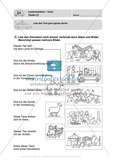 Lesekompetenz, Texte: Führerschein-Übungsaufgaben und Lösung Preview 1