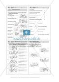 Lesekompetenz, Texte: Führerschein-Übungsaufgaben und Lösung Preview 5